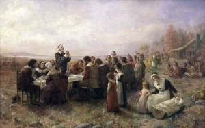 Thanksgiving Thanking the Christian God