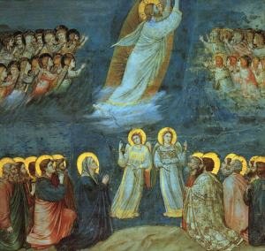 (Jesus Christ Resurrection)(Giotto-Ascension)