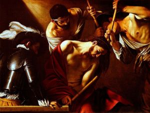 Crowning With Thorns by Caravaggio (Jesus Christ Resurrection)