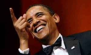 Obama jokes at Radio and Television Correspondents Dinner (June 19 2009)