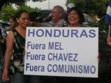 """Honduras: Out Mel (Zelaya). Out Chavez. Out Communism."""