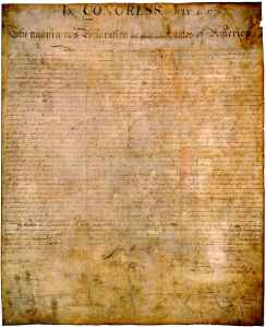 Declaration Of Independence _enhanced
