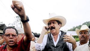 Honduras Zelaya-llega-a-Las-Manos