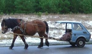 Obama-Car Horse Model 1