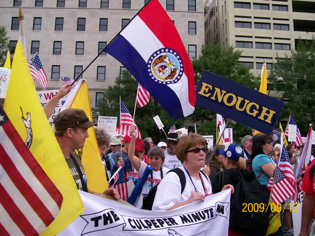 2009-09-12 March On Washington Tea Party Rally