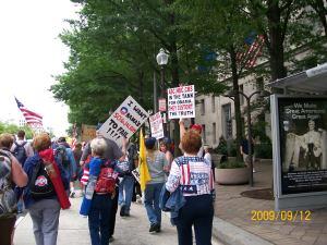 2009-09-12 March On Washington DC Tea Party 912 Rally