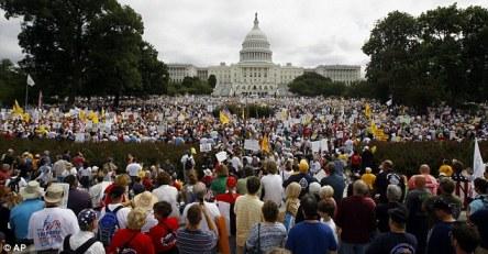 912 March on Washington Tea Party - 9/12/2009 (AP)