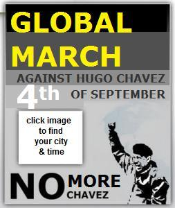 GlobalProtestNoMoreChavez MarchMundialNoMasChavez