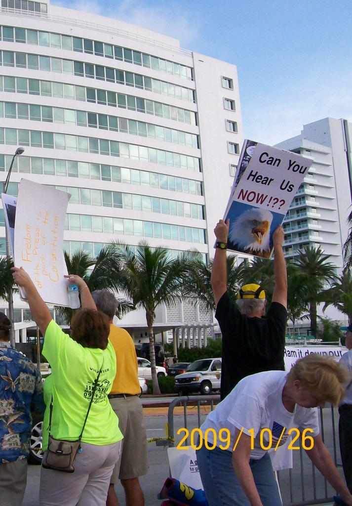 2009/10/26 Obama Miami Visit 059b