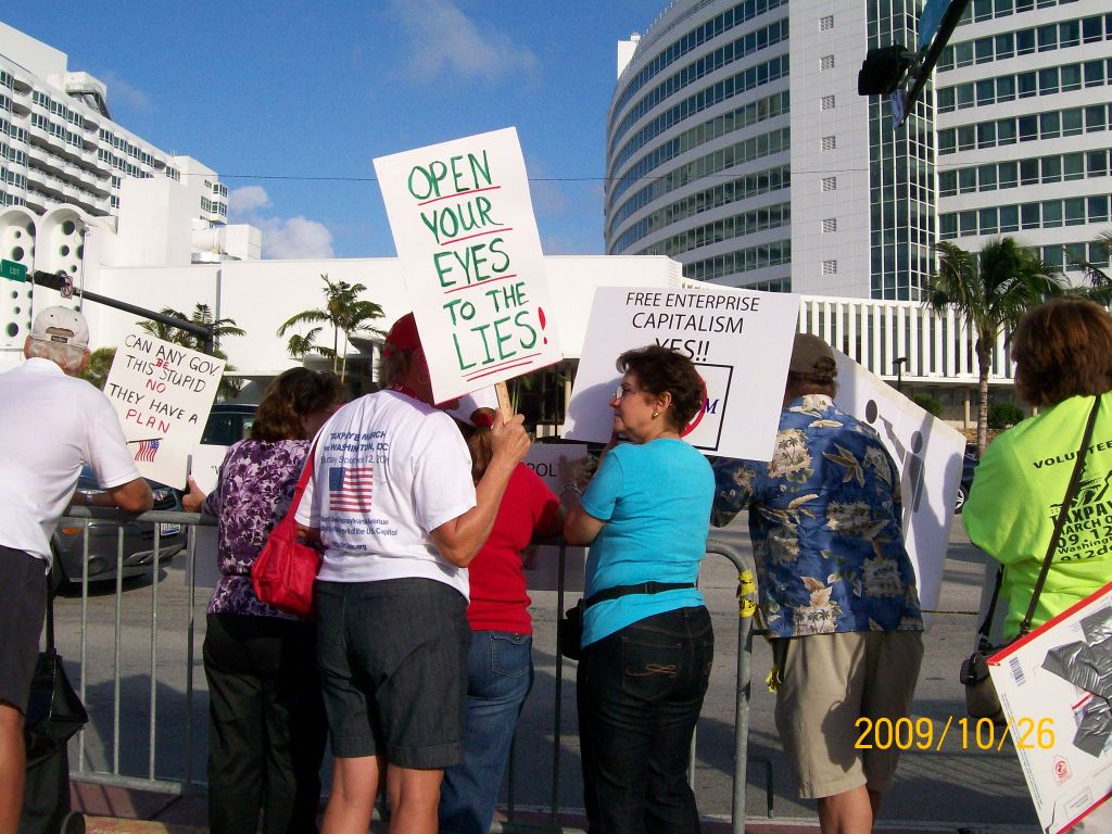 2009-10-26 Obama Miami Visit 066