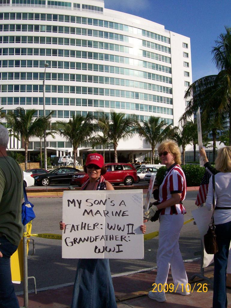 2009-10-26 Obama Miami Visit 075