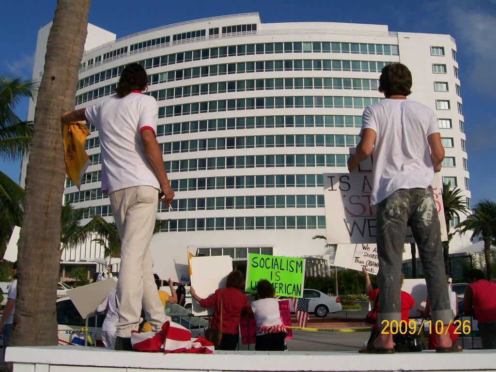 2009-10-26 Obama Miami Visit 108