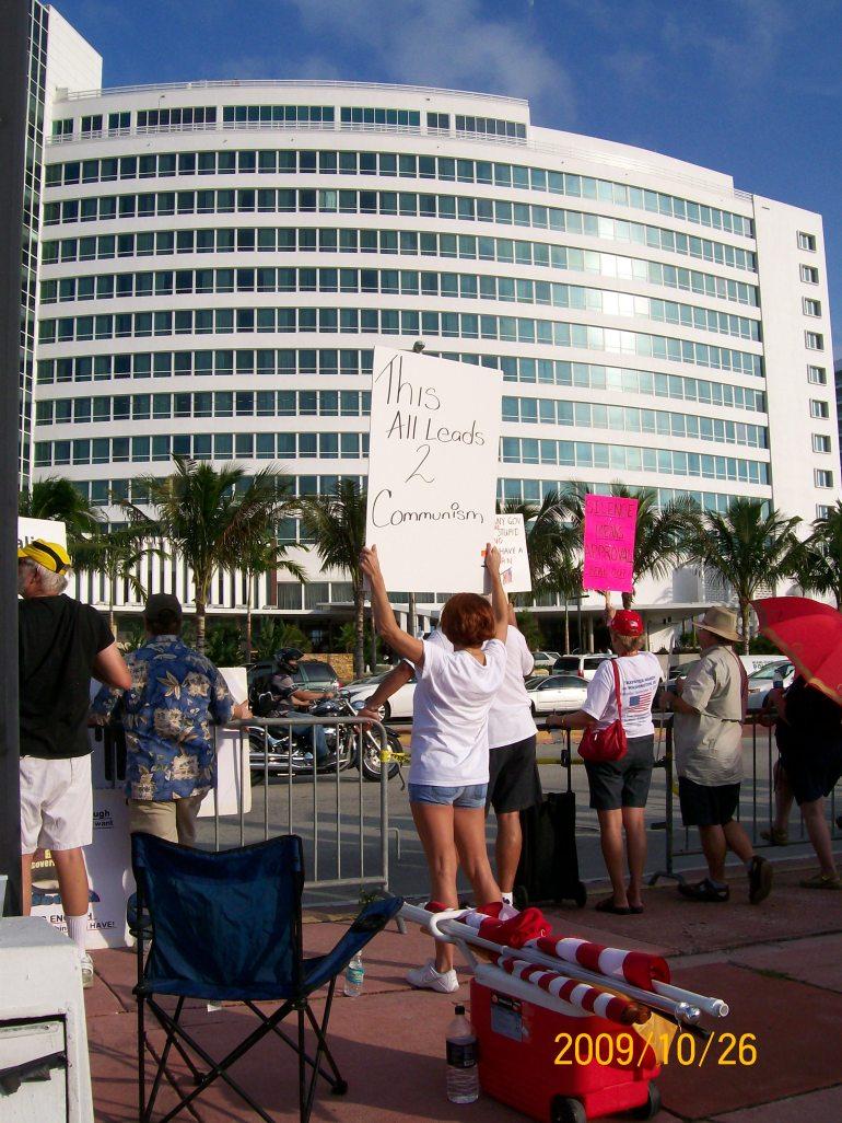 2009-10-26 Obama Miami Visit 111