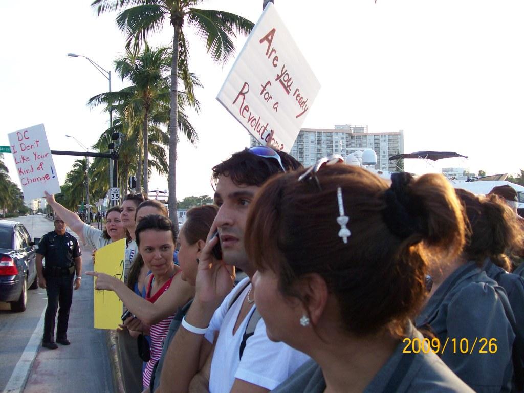 2009-10-26 Obama Miami Visit 149