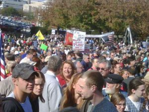 11-5 Tea Party in DC - Americans against ObamaCare - Bachmann housecall
