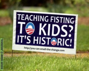 Obama's Czar Teaching Fisting to Kids