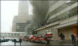 What motivated the terrorists in the first attack on the world trade center in 1993