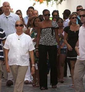 Michelle Obama, Marbella, Spain (August 2010)