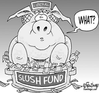 Image result for slush fund
