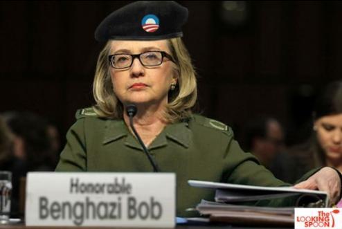 Hillary Clinton 'Benghazi Bob'