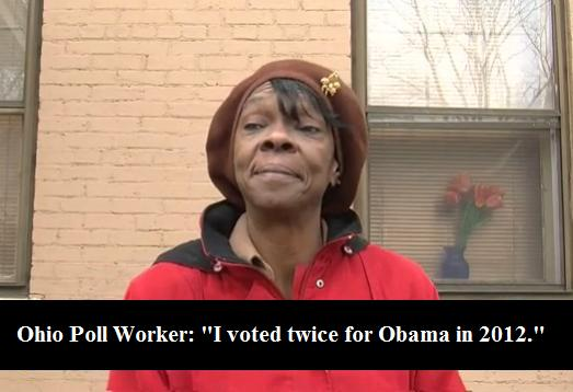 Election Fraud - Melowese Richardson Richardson Voted Twice for Obama in 2012