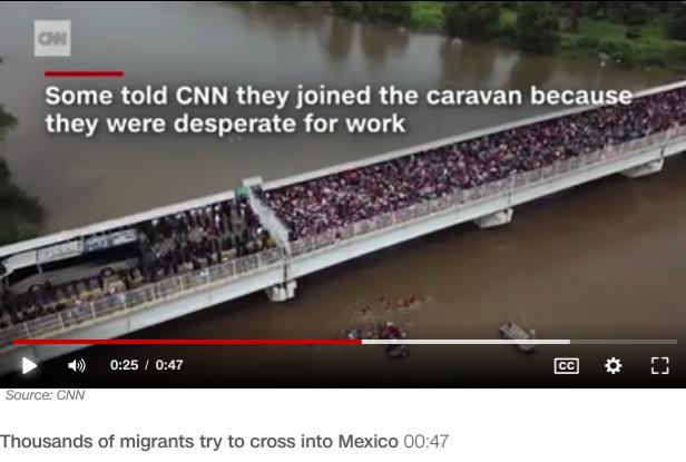 CaravanMigrantsWantJobsCNN-19Oct2018