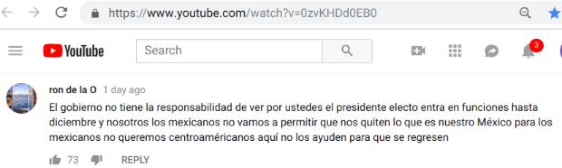 youtubeCommentBraulioMexico