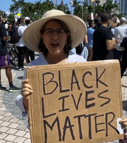 Daniella Levine Cava, Miami-Dade mayor candidate. Black Lives Matters. BLM