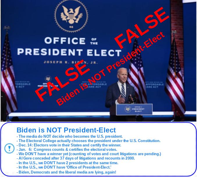 BidenisNOT-PRESIDENT-ELECT(2020Election)