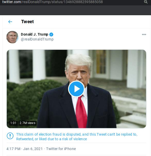 TwitterTrumpTellsProtestersGoHome-Jan6-2021orig